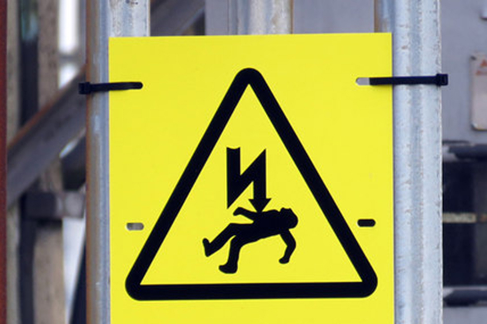 Žuvo nutrenktas elektros