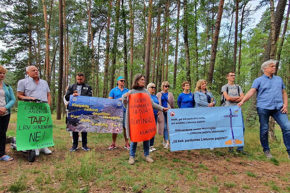 STT: miškai saugomi nepakankamai