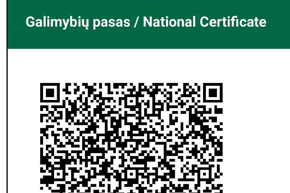 Galimybių pasą bus galima pasiimti ir Nidoje bei Juodkrantėje