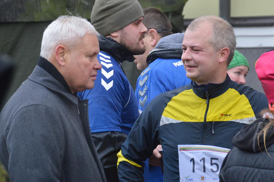 О каких проблемах мэр Клайпеды говорил на встрече с министром окружающей среды?