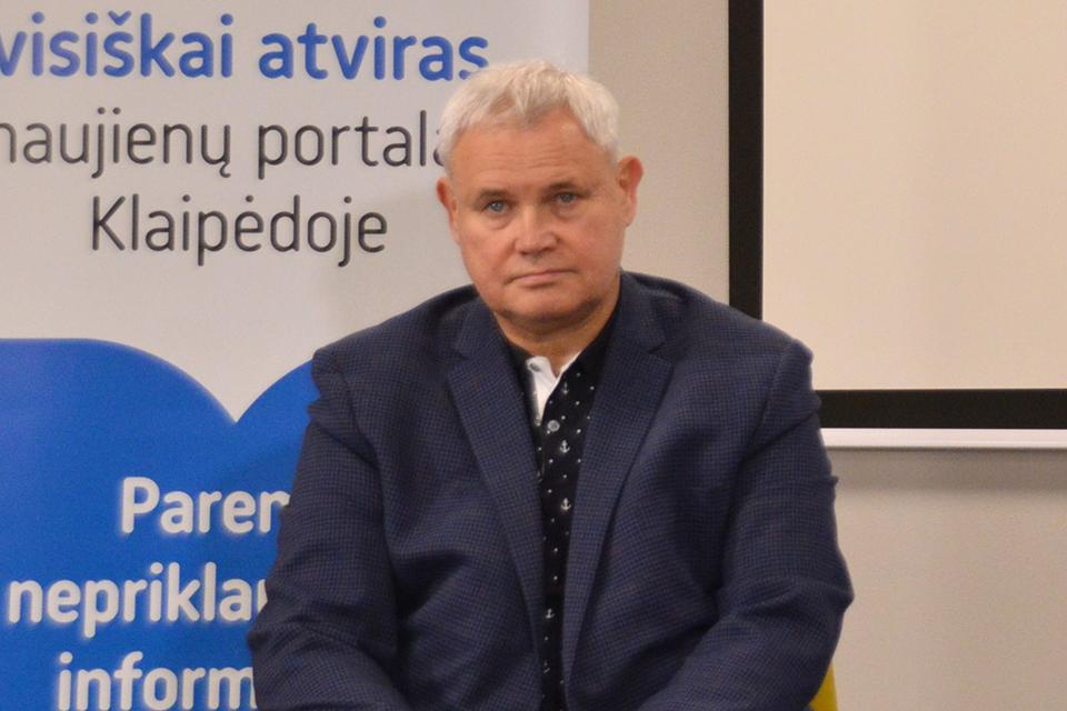 Vytautas Grubliauskas susirgo COVID-19