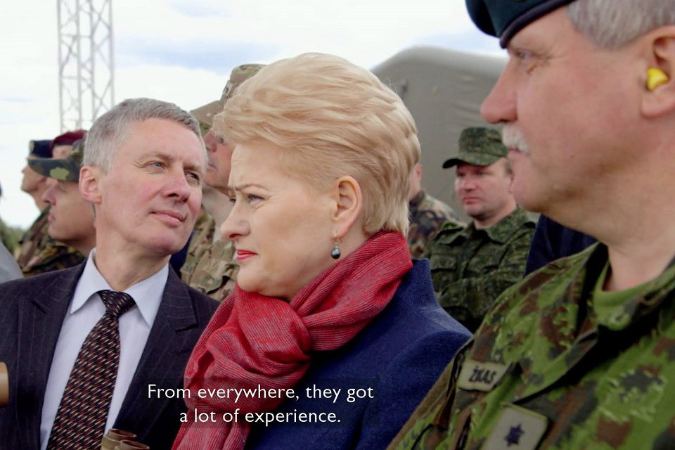 Kviečia į BBC dokumentinio filmo apie D. Grybauskaitę peržiūrą