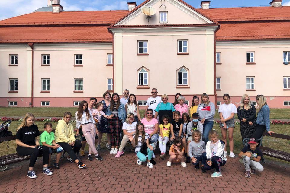 Organizavo ekskursiją neįgaliems vaikams