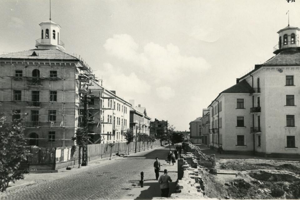 Leningradietiški kirilicos pėdsakai Klaipėdos veide