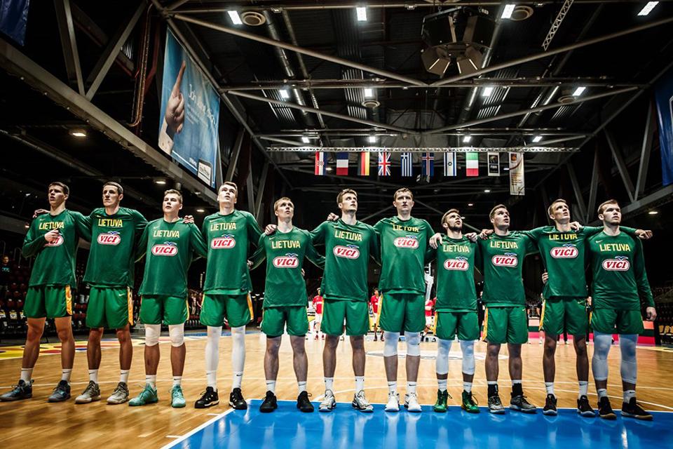 Bandys prikviesti Europos jaunimo vaikinų krepšinio čempionatą