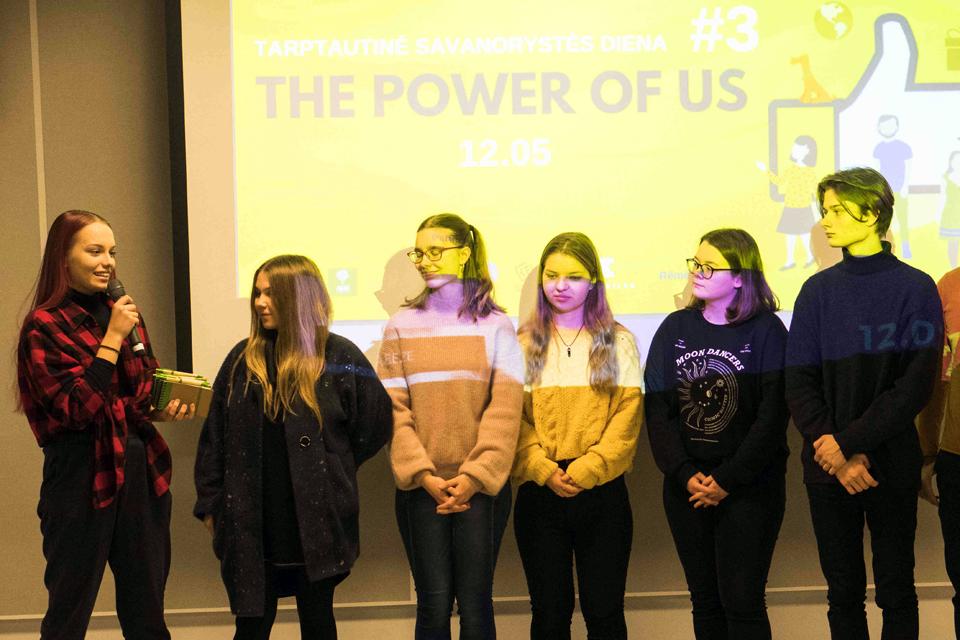 Klaipėdos jaunimas paminėjo tarptautinę savanorių dieną