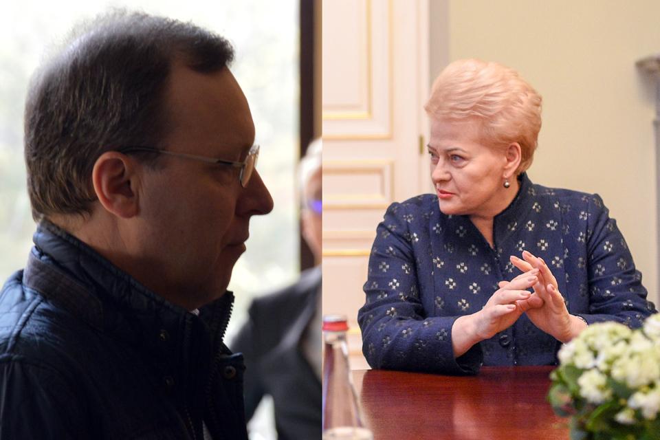 Naglis Puteikis kalba apie galimas Dalios Grybauskaitės sąsajas su KGB (atnaujinta)