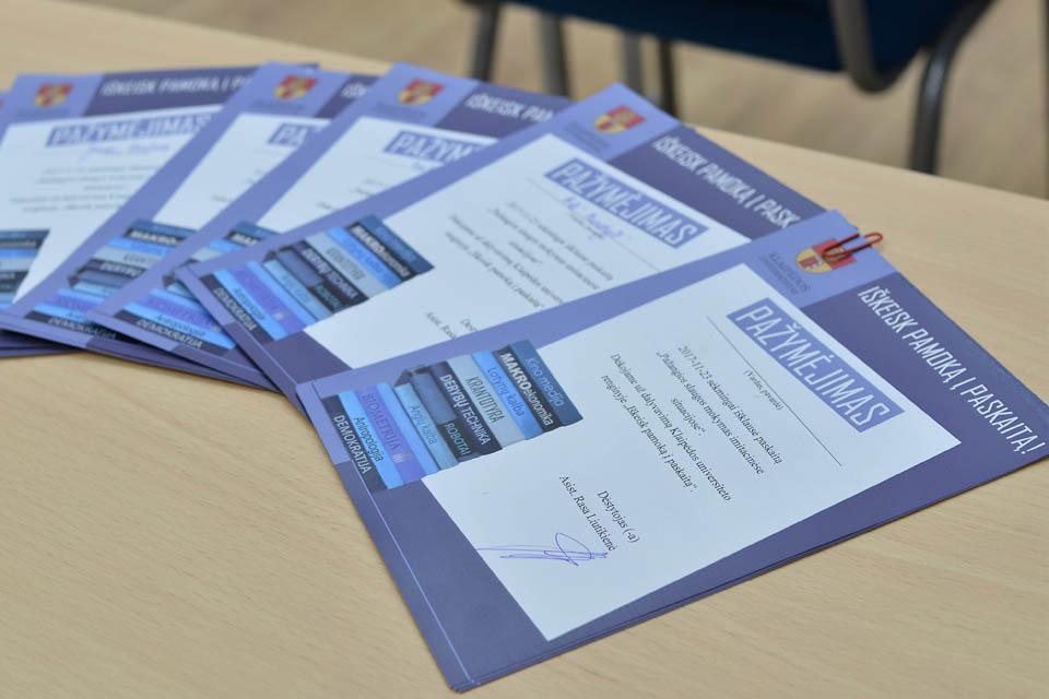 Moksleivius kviečia į paskaitas Klaipėdos universitete