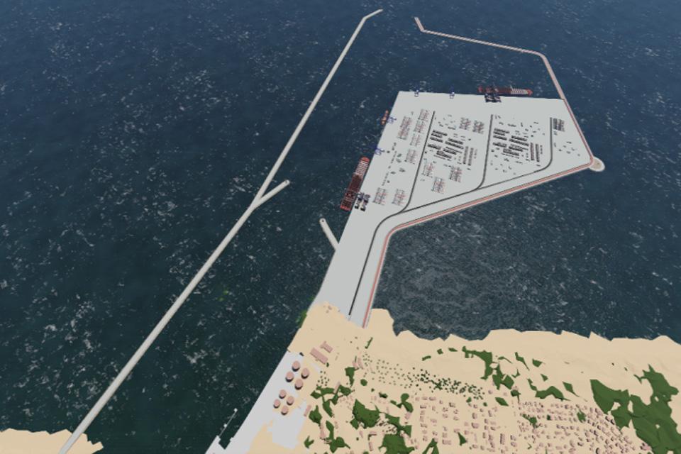Išorinio uosto klausimas atidedamas iki 2030 metų
