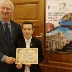 Jaunasis klaipėdietis  - tarptautinio konkurso nugalėtojas