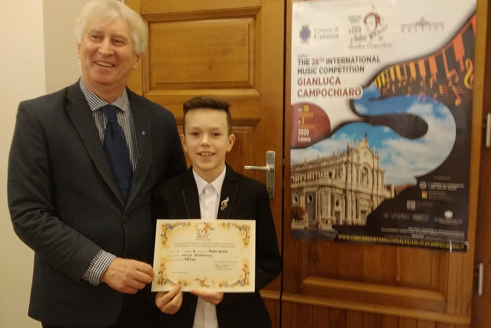 Jaunasis klaipėdietis  – tarptautinio konkurso nugalėtojas