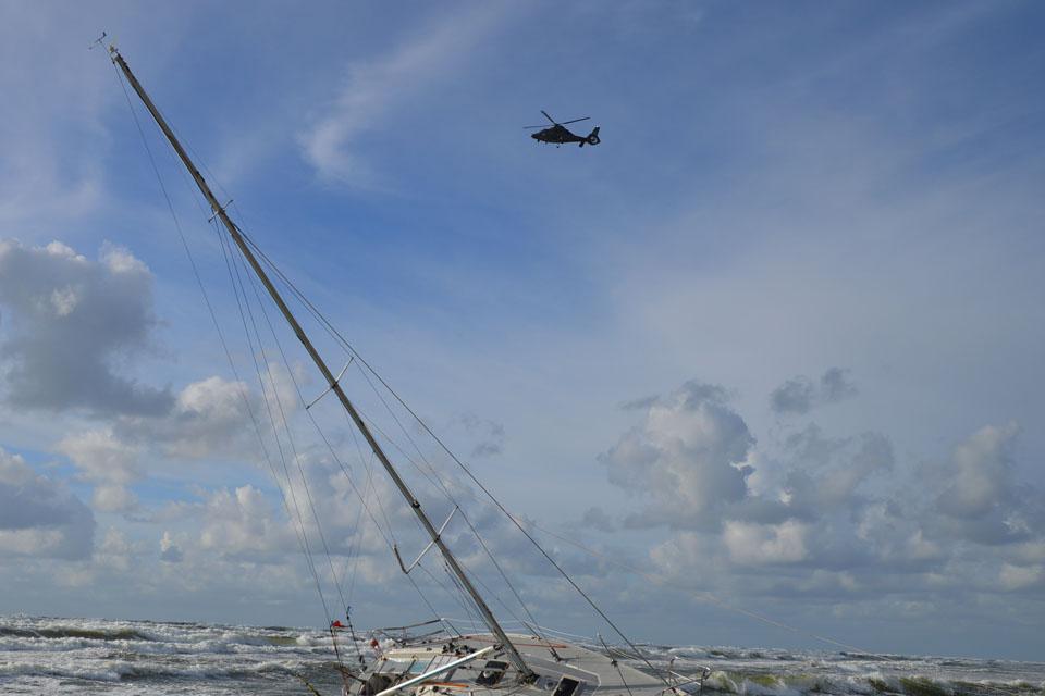 Prie Klaipėdos – dar vienos jachtos nelaimė (papildyta)