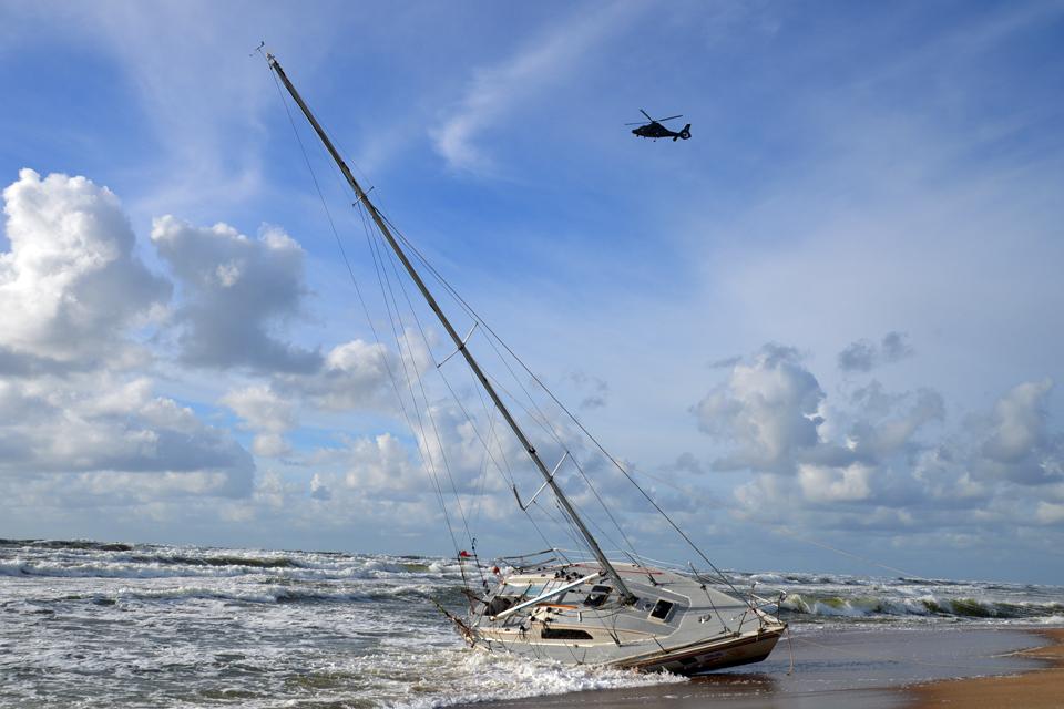 Jūra grąžino ir kapitono kūną