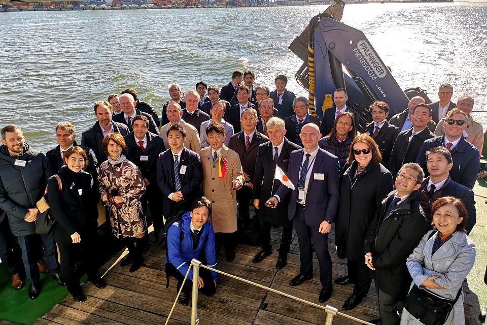 Klaipėdos uoste – Japonijos verslininkai