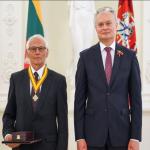 Valstybinis apdovanojimas iš prezidento rankų – ir klaipėdiečiams