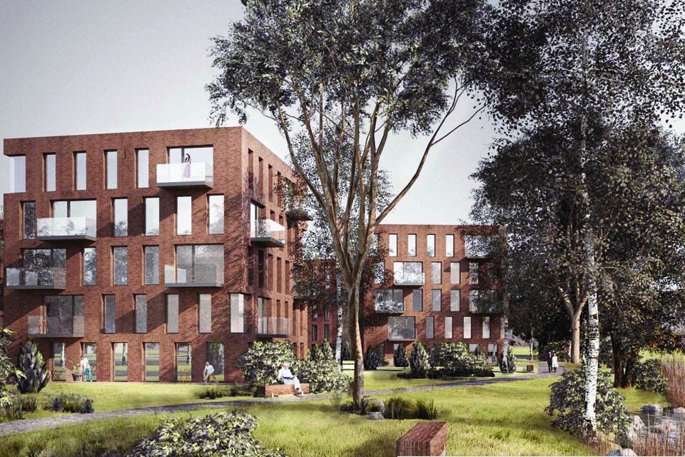 Architektų kritikuotas daugiabučių kvartalas artėja prie realybės