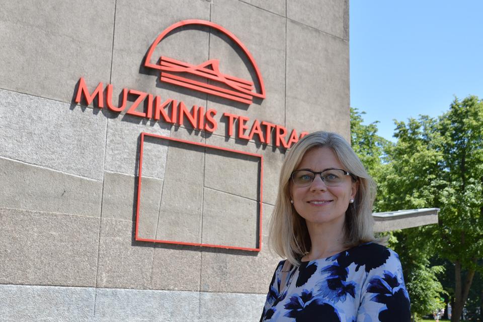 Domisi galimybe vadovauti Muzikiniam teatrui