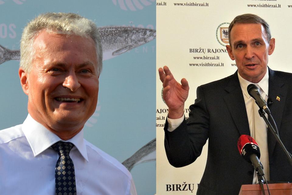 Prezidento rinkimuose dalyvaus ir Arvydas Juozaitis, ir Gitanas Nausėda