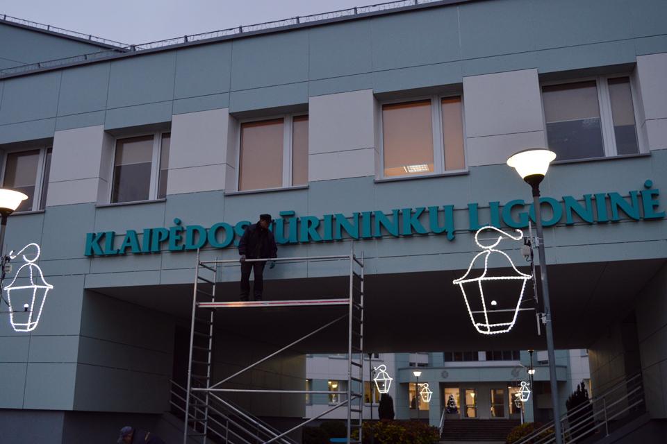Klaipėdos jūrininkų ligoninėje – eilinis pažeidimas