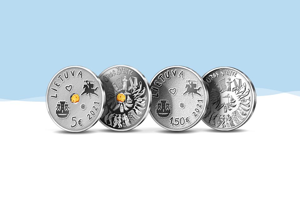 Apyvarton išleidžia Jūros šventei skirtas monetas