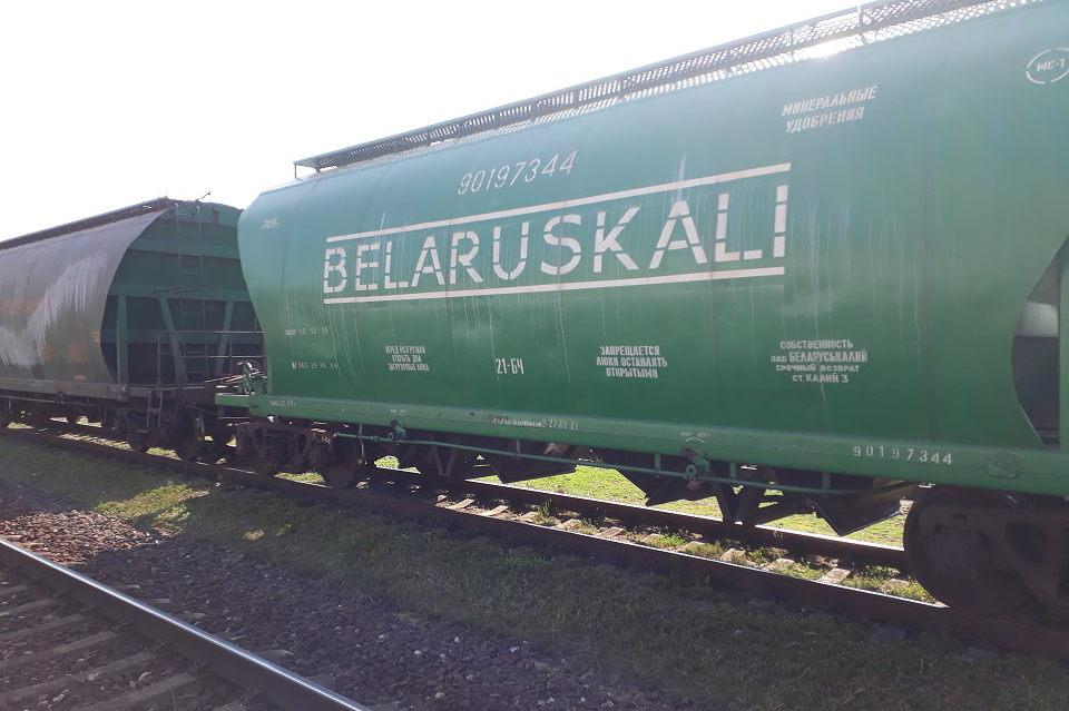 Удовицкий: каждая четвертая тонна груза в Клайпедском порту произведена «Беларуськалием»