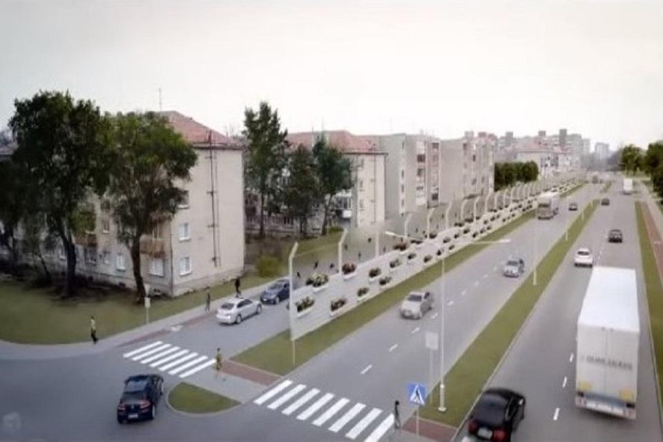 Kalnupės gatvė oficialiai taps uosto koridoriumi