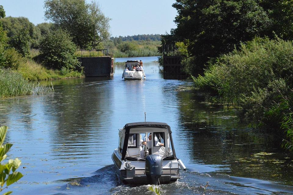Dėl laivybos Vilhelmo kanale – rezoliucija ministerijoms