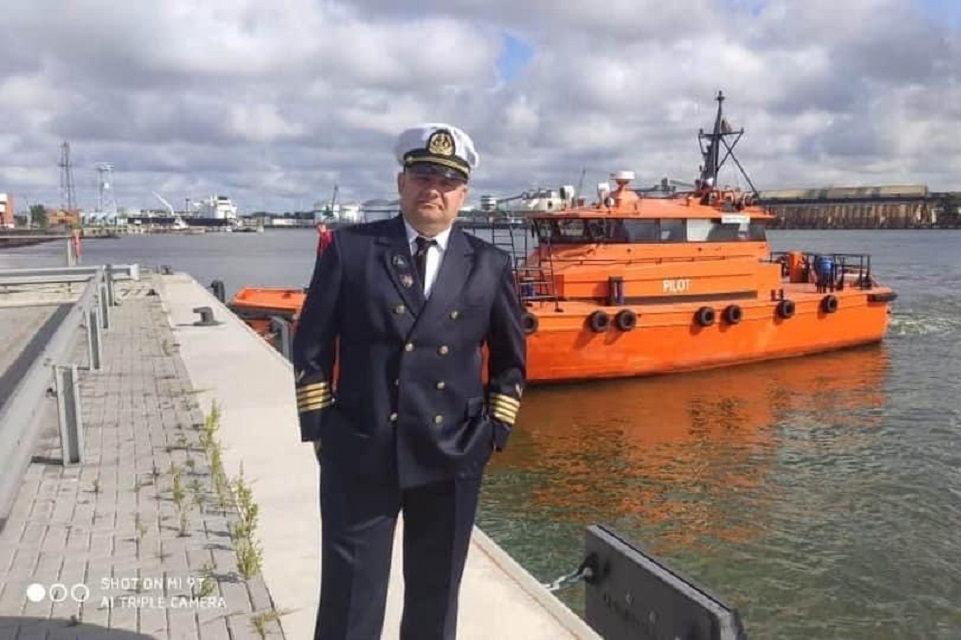 """Romas Karmazinas: """"Kapitonas – tai jūrinės valstybės veidas"""""""