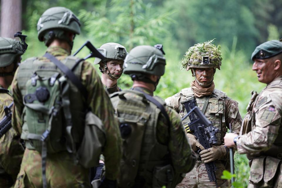 "Kairių poligone baigėsi pratybų ""Baltic Protector"" etapas"