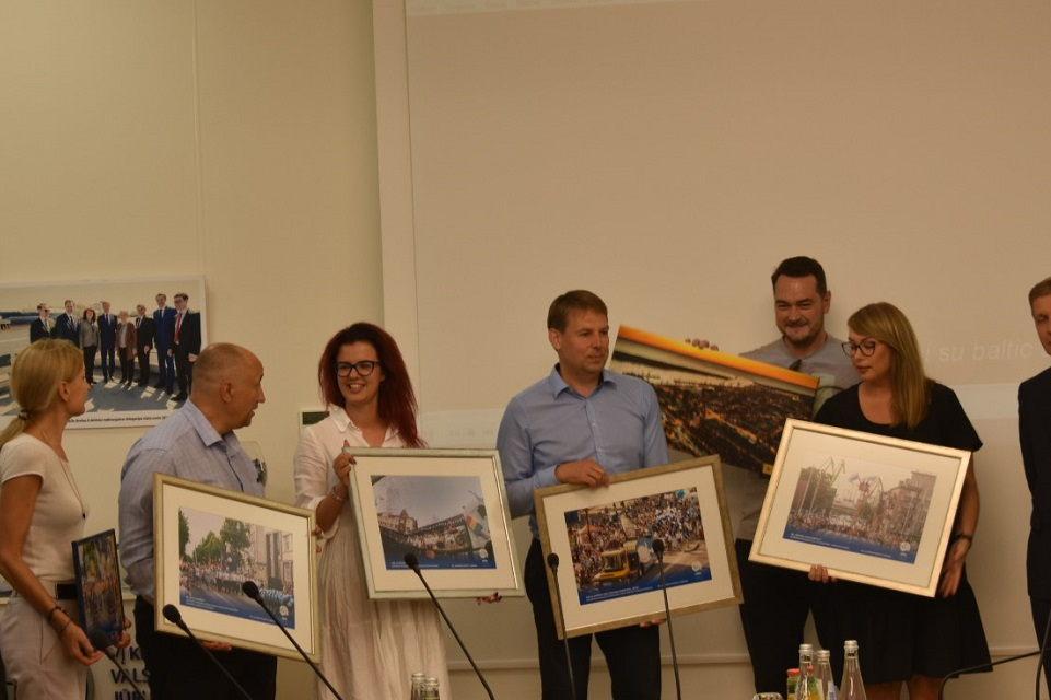 Apdovanoti Jūros šventės eisenos dalyviai