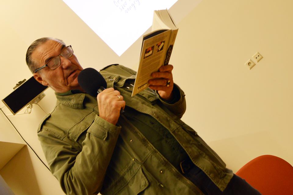 """Knygą pristatęs Algirdas Kaušpėdas: """"Ilgą laiką nedrįsau rašyti"""""""
