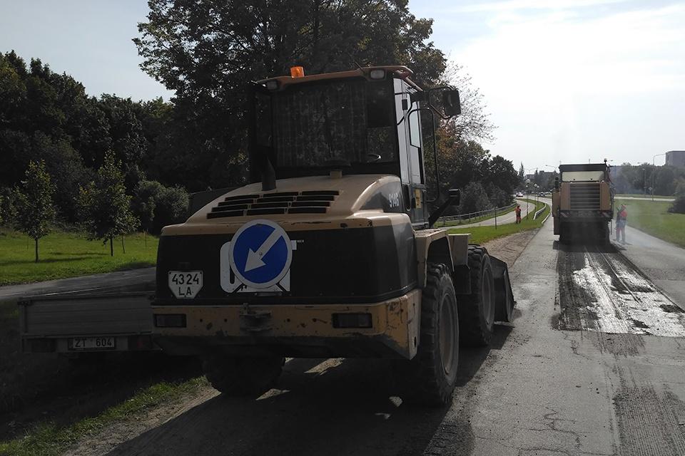 Spalį saugumą Klaipėdos rajono keliuose užtikrins papildomos priemonės
