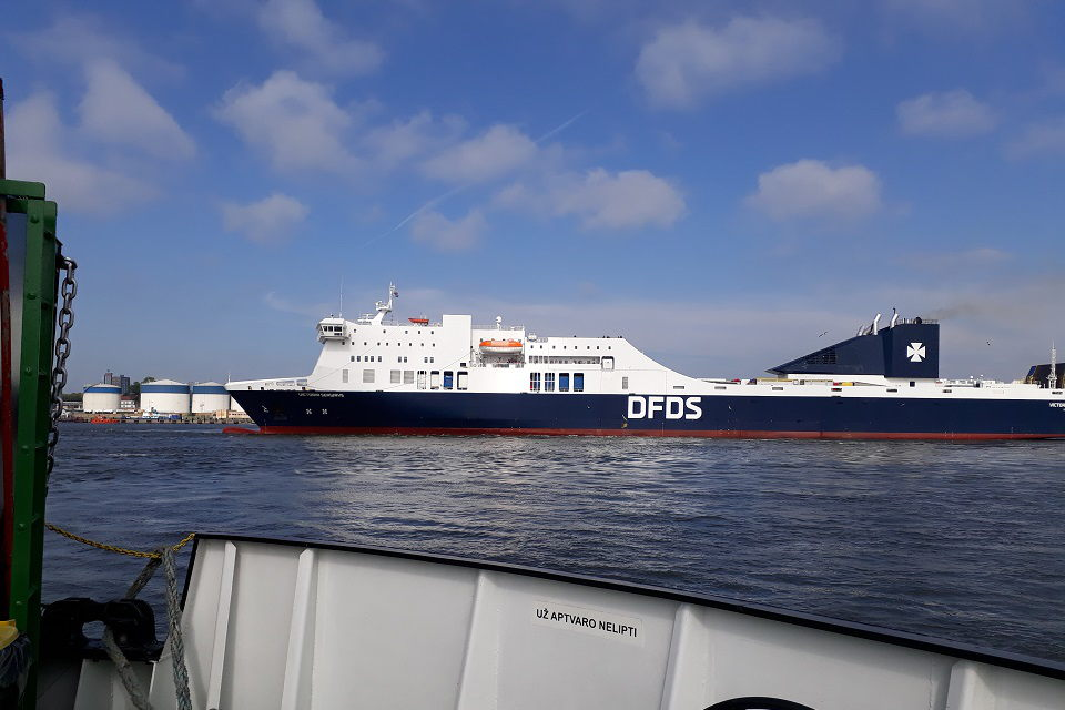 DFDS kelte vidury jūros gimė mergaitė