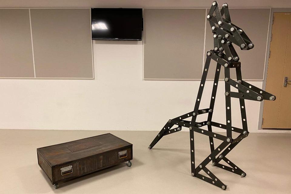 Šiuolaikinio meno žaismė Kultūros fabrike