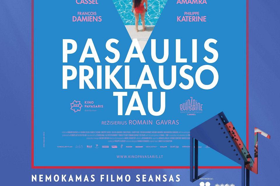 Gargžduose – nemokami kino seansai po atviru dangumi