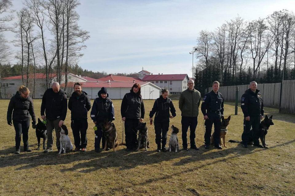 """Estijoje policininkų šunys """"išbandė"""" naujos rūšies narkotikus"""
