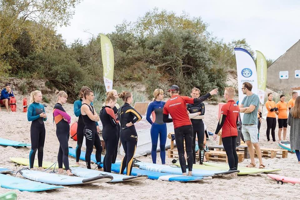 Klaipėdos paplūdimyje – netradicinio sporto festivalis