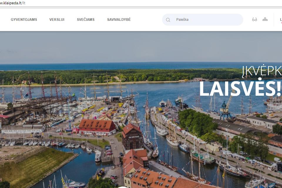 Savivaldybė turi naują svetainę