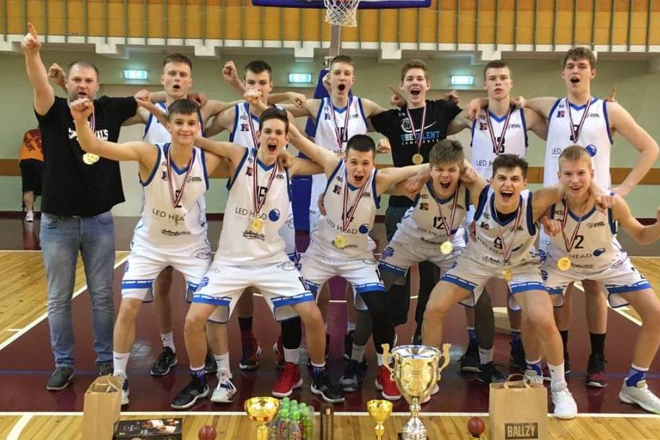Klaipėdiečiams – Europos jaunimo krepšinio lygos auksas