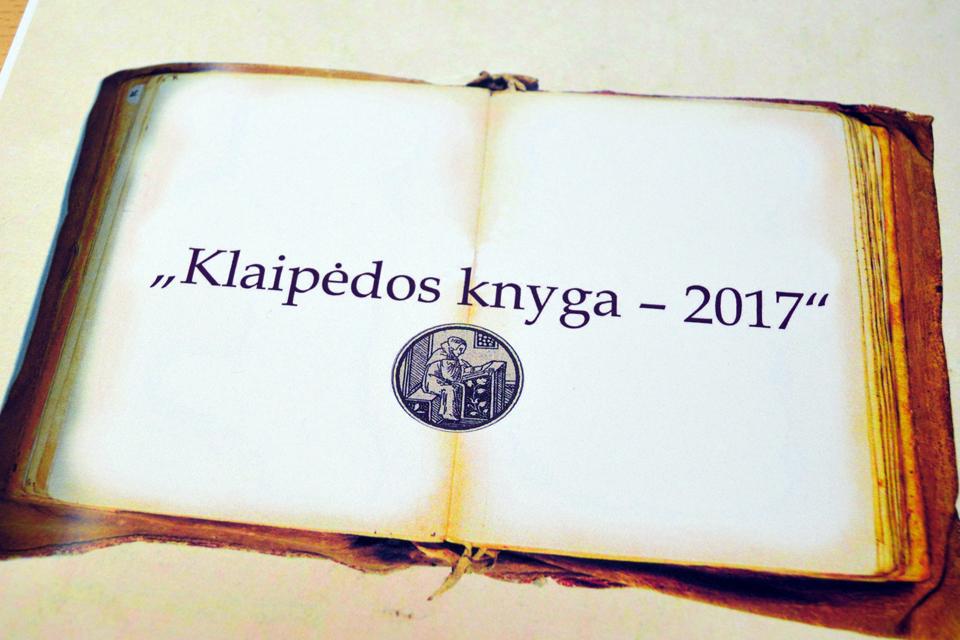 """Startavo konkursas """"Klaipėdos knyga"""""""