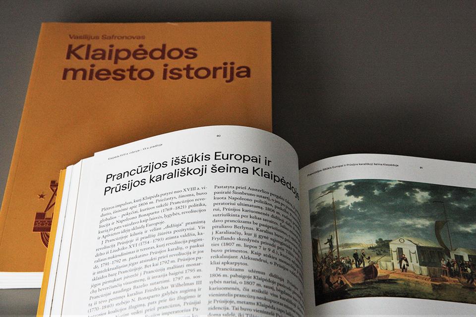 """Pristatys """"Klaipėdos miesto istoriją"""""""
