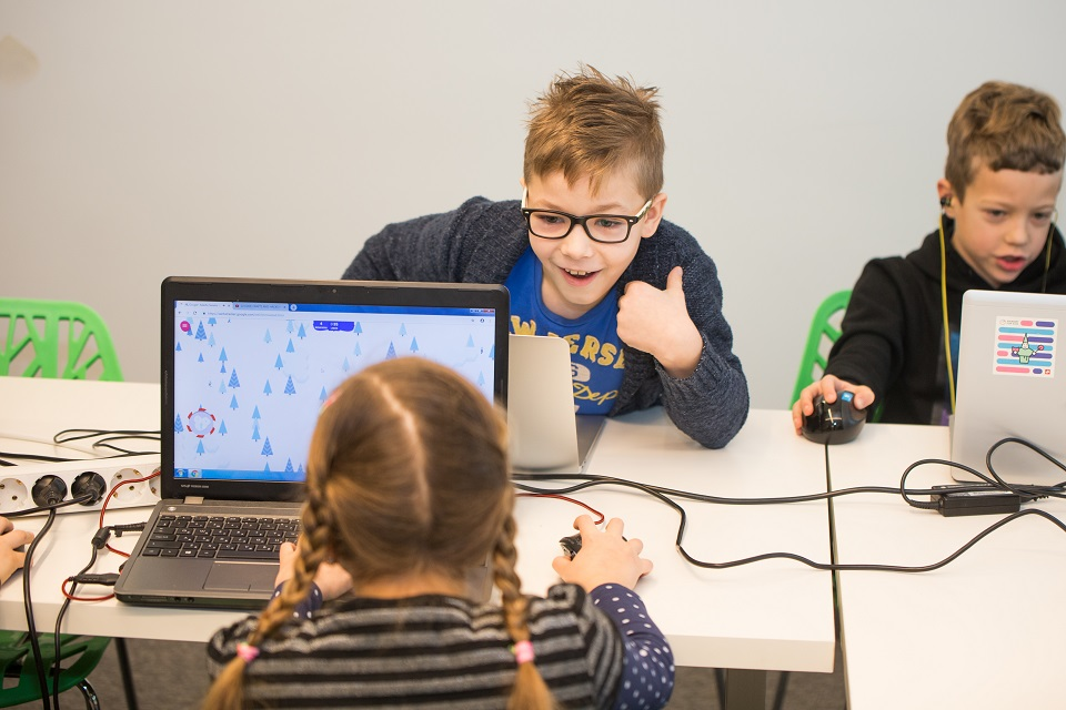 Klaipėdiečiai programuoti moko ir pradinukus