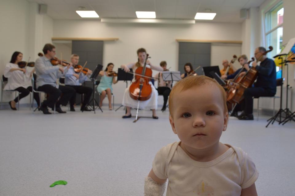 Klaipėdoje dėliojama orkestro dėlionė