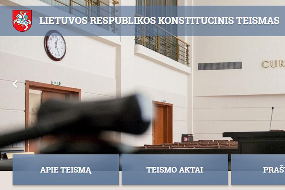 Valstietiškai studijų reformai – Konstitucinio Teismo kirtis