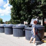 Švara prie atliekų konteinerių - ir vežėjų, ir gyventojų pareiga