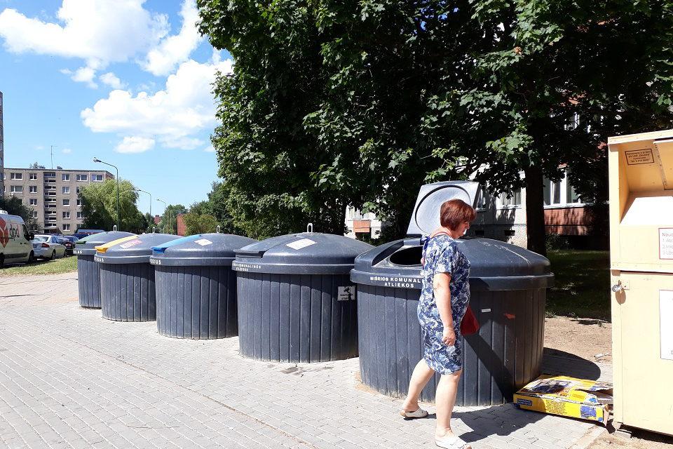 Švara prie atliekų konteinerių – ir vežėjų, ir gyventojų pareiga