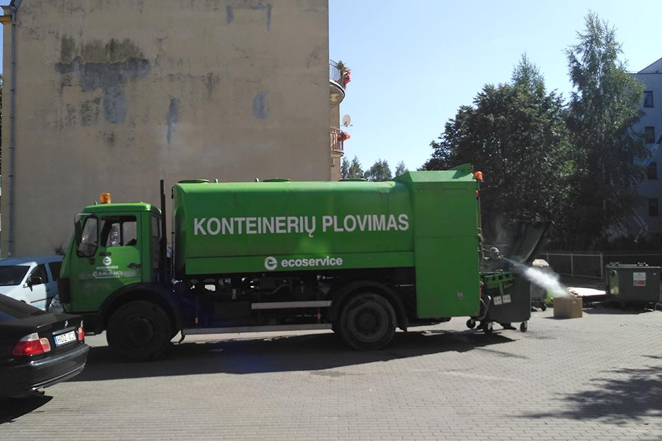 Planuojama plauti ir individualių namų konteinerius
