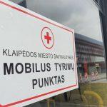 Laikinai bus sustabdyta registracija į mobiliuosius punktus