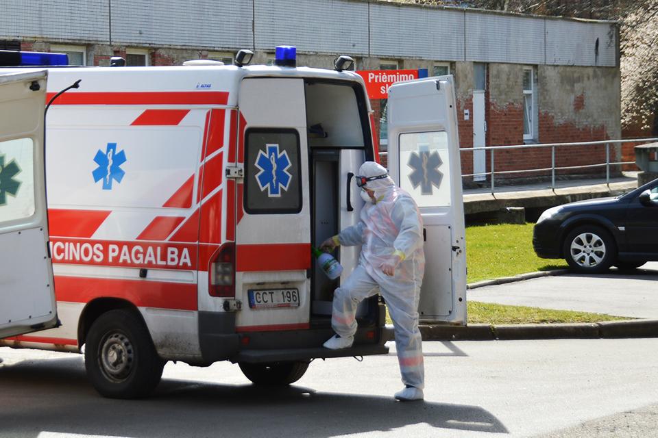 Sergančiųjų COVID-19 liga Klaipėdoje – jau daugiau nei 1000