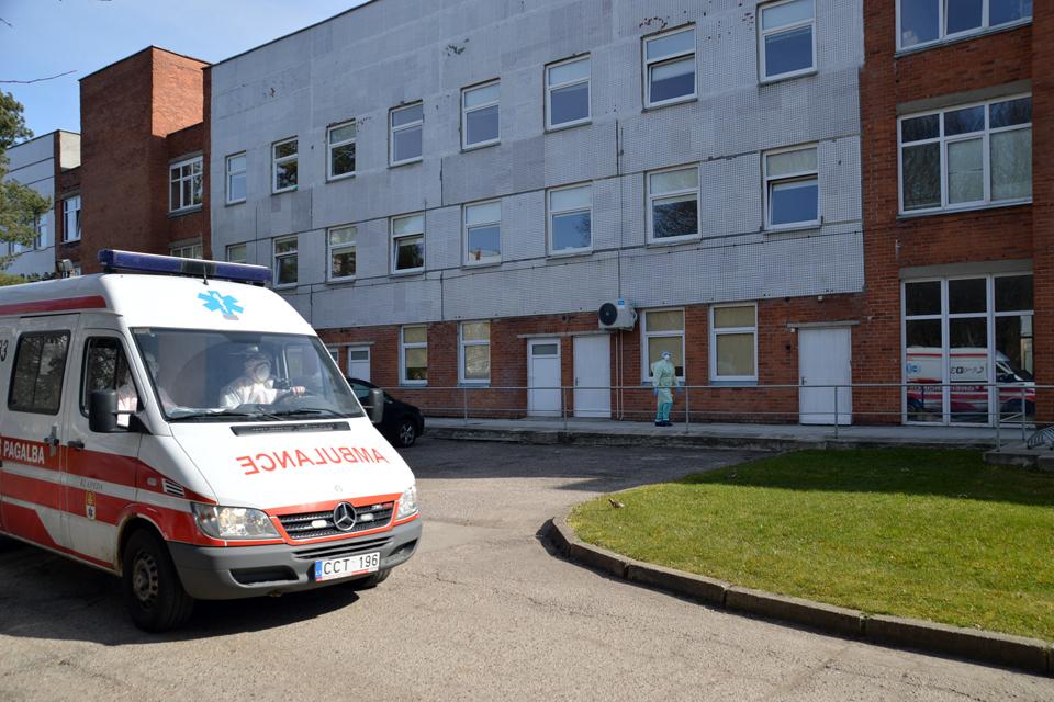 Koronavirusas: Klaipėdoje liko 23 sergantieji